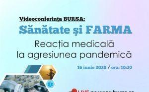 """Iulian Trandafir, Presedinte A.D.R.F.R., participare Videoconferința """"Bursa Sănătate și Farma: Reacția medicală la agresiunea pandemică"""""""