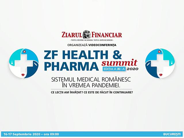 Iulian Trandafir, Președinte A.D.R.F.R, participare Videoconferinţa ZF Health&Pharma Summit'20